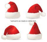 Fabrik-direkter niedriger Preis-roter Weihnachtshut