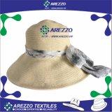 女性のバケツのペーパー麦わら帽子(AZ014A)