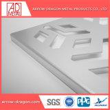 Corte a Laser de espelho de bronze/ Traço Fino esculpidas em aço inoxidável/ Painéis Gravada Empurrador Jardim/ empurrador de privacidade/ Régua de metal