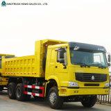 Vrachtwagen van de Kipper van de Stortplaats van de Kipwagen van Sinotruk HOWO de Op zwaar werk berekende