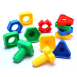Boulons en plastique et synthons Nuts pour des jouets d'enfants