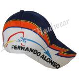 3D construido promocional bordados gorras de béisbol