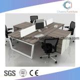 [ل] شكل خشبيّة طاولة خزانة حاجز إعلان مركز عمل