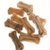 La couleur indigène a appuyé des mastications de chiot de cuir vert d'os