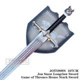 Neve Swordgame Longclaw de Jon da espada austero 107cm Jot5909n da casa dos tronos