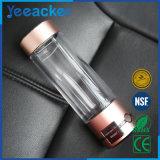 Botella de agua barata del hidrógeno del anión del OEM, marcas de fábrica competitivas de la botella alcalina del filtro de agua