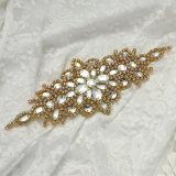 Venda por grosso de cristais de vestidos de casamento de alto grau de acessórios da correia de Diamante