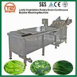 葉菜の回転式ドラム連続的な泡洗濯機