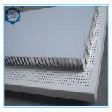 Panneau composé en aluminium personnalisé de nid d'abeilles de haute résistance antichoc