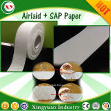 生理用ナプキンの原料のAirlaidの吸収性のペーパー