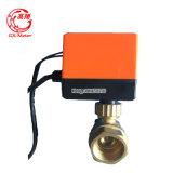 Válvula de freno eléctrica de Dn15mm para la guarnición del contador del agua