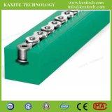 Tipo-K di plastica della guida di guida del trasportatore della buona parte materiale