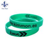 Wristband su ordinazione promozionale del silicone con il marchio