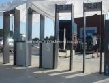 6 zonas caminar a través de bastidor de la puerta el detector de metales SA-IIIA de entrada para eventos