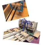 Perfil de plástico de PVC rígido de la máquina de extrusión para la decoración de ventana de la puerta (SJ70)
