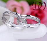 مصنع بيع بالجملة 100% 925 [سترلينغ سلفر] [فينجر رينغ] نساء يتزوّج مجوهرات