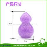 Soplo de encargo de la esponja de la fundación del maquillaje del silicón del soplo de polvo de esponja del maquillaje del silicón de la gota del agua 3D