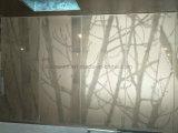Forma de árbol de la pantalla de metal de aluminio de diseño de panel perforado