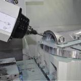O CNC plástico fazendo à máquina dos protótipos do metal da prototipificação girado parte as peças da máquina do torno