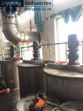 機械を浸す働く保護PUの上塗を施してある手袋
