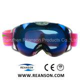 Doppelte kugelförmige Objektiv-Anti-Fog UVschnitt-Snowboarding-Schutzbrillen
