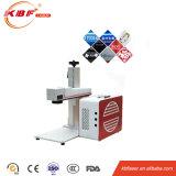 Máquina de gravura portátil do laser do metal da fibra do preço relativo à promoção