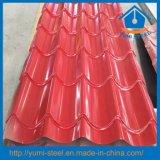 Folhas de aço revestidas do telhado/parede da cor para os edifícios de aço