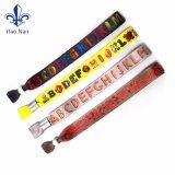 Wristbands feitos sob encomenda profissionais do festival nenhum pedido mínimo