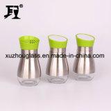 Vaso di vetro con il coperchio 120ml