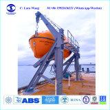 판매를 위한 Solas Med 바다 Tempsc 구명정 그리고 중력 유형 철주