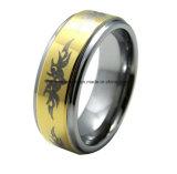 Ювелирные изделия вольфрама лазера плакировкой золота высокого качества ювелирных изделий тела (TSTG025)