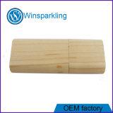 Memoria Flash de destello del USB de madera del USB del material de bambú