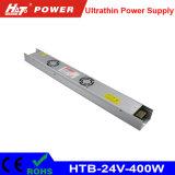alimentazione elettrica di commutazione di 400W 17A 24V per il segno ultrasottile di Lightbox