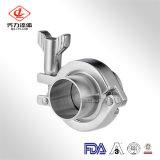 Tamaño personalizado de calidad fiable 304/316L la abrazadera del tubo de hierro fundido