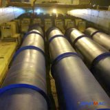 autoclave concret aéré de briques de chauffage de vapeur de 2.85X38m