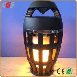 Heiße verkaufenflamme des Bluetooth Lautsprecher-im Freien bewegliche Weihnachtsfeiertags-Geschenk-LED beleuchtet Flamme Bluetooth Lautsprecher