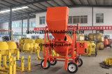 Novo Estilo de Carregamento Automático Betoneira motor diesel 350L/400L/450L/500L/550L/600L/700L/800L Rope Puxar