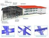 Estructura de acero para la construcción de taller y almacén SGS