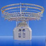 Machine à tricoter automatisée de décolleur de Six-Couleur
