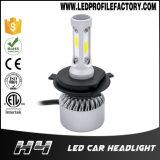Ampoule du phare H4 H7 H11 du véhicule DEL de la moto C6, lumière de véhicule de DEL, véhicules principaux de lumières