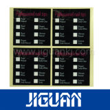 DUFTSTOFF-Nahrungsmittel-Kleber-Aufkleber des Drucken-A4 Papier