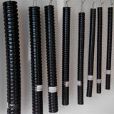 Conduit de métal flexible avec l'enduit de PVC