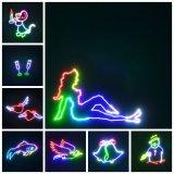 Het Licht van de Laser van het Stadium van DJ van de Animatie van de Disco van de Kaart van BR voor Club/Partij