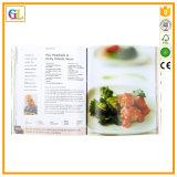 Impression de livre de cuisinier de couverture molle (OEM-GL033)