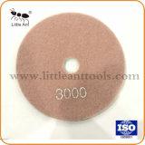 """5""""/125mm Tampon de polissage de diamant humide meule de pierre"""