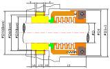 Ts10t Ts10r integrale Einlage-Drehgesicht der Dichtungs-(John Crane-Typ 10R 10T)
