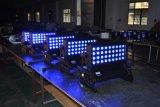 RGBW 4in1 Lichte LEIDENE van het Stadium van de Hoge Macht 36X8w Licht van de Kleur van de Stad van de OpenluchtWasmachine van de Muur het Lichte