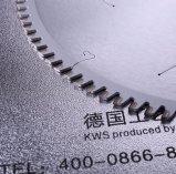 PCDのダイヤモンドの自在継手はMDF、ファイバー・ボード、合板等として切断木については鋸歯を