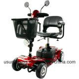 Neue bewegliche faltbare Rad-elektrischer Mobilitäts-Roller der Lithium-Batterie-250W vier für ältere Personen/Olders