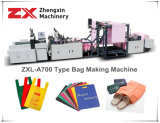 Non сплетенный мешок ткани делая машину для мешка тельняшки (Zxl-A700)